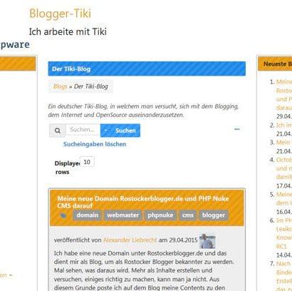 Internetblogger.name - TikiWiki Frontend