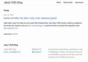 jekyll-cms-blog-frontend