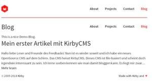 kirbycms-blog