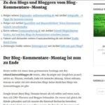 Einfachere Kommentar-Funktion bei diesem Blog Internetblogger.de