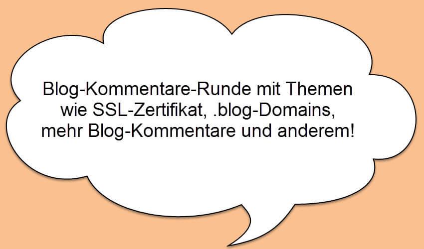 Blog-Kommentare-Runde mit Internetblogger.de vom 12.11.2016
