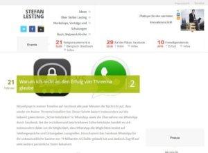 Lesting.org das Blog