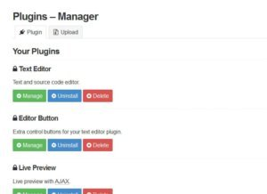 mecha-cms-plugin-manager