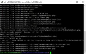 mediawiki-sicherheitspatch-1-25-4-via-ssh-einspielen-screenshot