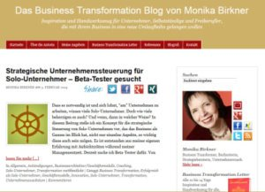 Blog Monika-birkner.de