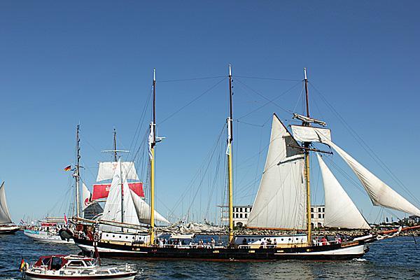 HanseSail Segelschiffe 2015 in Warnemünde