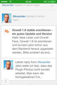 oxwall-mobile-newsfeed-frontend
