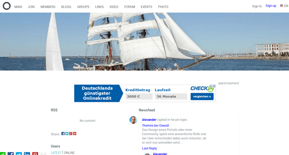 Oxwall 1.8.4 Social Networking Tool erschienen - SEO-Update