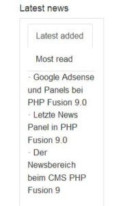 php-fusion-9-portal-frontend_latest-news-panel