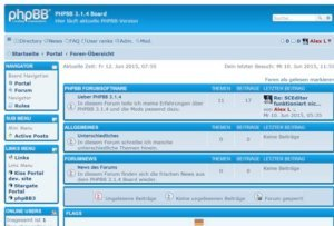 PHPBB 3.1.6 Forum Frontend