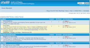 phpbb3-board-frontend