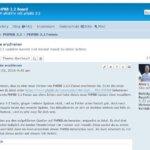 PHPBB 3.2.0 RC 1 erschienen – Updaten klappte gut