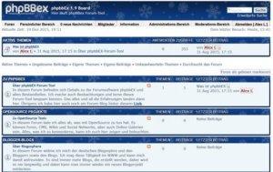 phpbbex-1-9-1-Forum-frontend-startseite