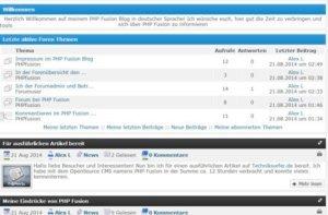 PHP Fusion Blog