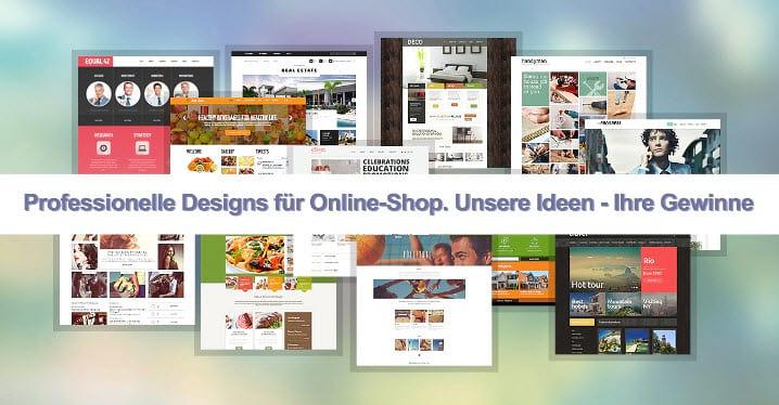 Wie sollte Design eines Online-Shops sein