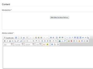 QuickApss Visueller Editor