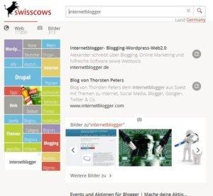 swisscows-internetblogger-suche