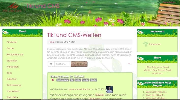 TikiWiki 14.2 online – man kann updaten