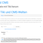 TikiWiki 15.0 stable verfügbar – Updaten empfohlen