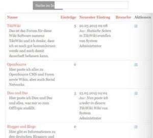 tikiwiki-forum-frontend