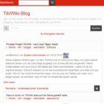 Meine ersten Erfahrungen mit dem TikiWiki