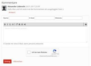 tikiwiki-kommentare-spam-schutz-mit-recaptcha-email-abo-internetblogger-de