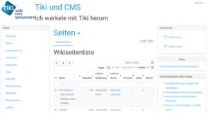 tikiwiki-wiki-seiten-auflistung