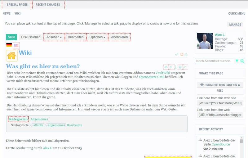 XenForo-Addon VaultWiki 4.0.14 erschienen - Verbesserungen und Bugfixes