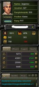 War2glory Kommandozentrale