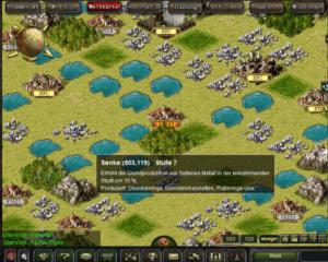 War2Glory Weltkarte