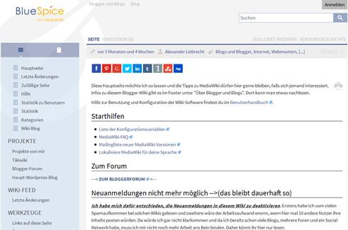Wichtige Sicherheitsupdates des MediaWiki erschienen - 1.25.6