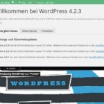 WordPress 4.2.3 – Sicherheitsupdate und WordPress 4.3 beta 4