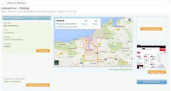 xenforo-addon-business-directory-einzelner-eintrag