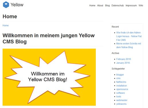 yellow-cms-blog-frontend