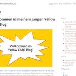 Yellow Flat File CMS: Shariff Share Buttons installieren