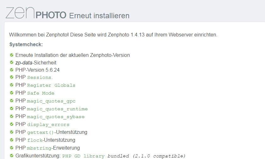 Zenphoto 1.4.13 CMS erschienen - Update mit Bugfixes - Fehlerbehebungen