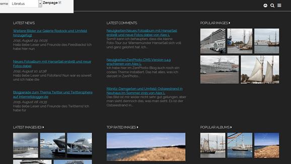 Zenphoto 1.4.12 erschienen - Bugfixes und Sicherheitsupdate