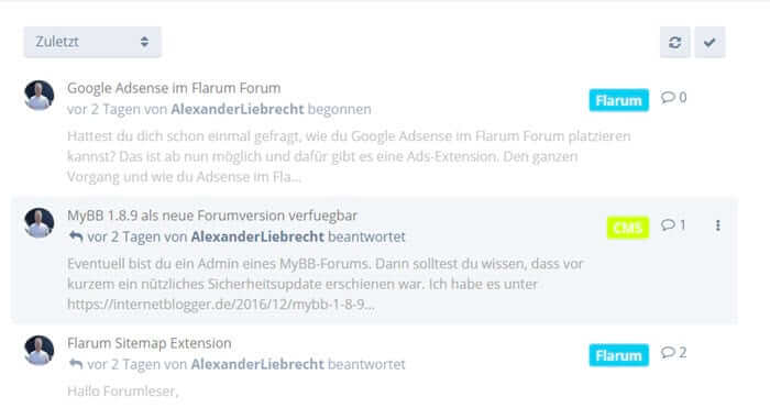 flarum-forum-forumpost-teaser-extension-summarys-internetblogger-de