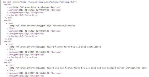 Flarum-Forum: Sitemap-Erweiterung installieren – wie geht das?