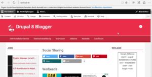 drupal830-im-frontend-internetblogger-de