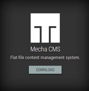 Mecha v2 OpenSource CMS