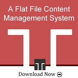 Mein Partner Mecha Flat File CMS als Projekt