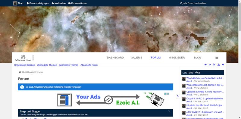 Yaf-forum.de: Neues Premium Design und WBB 4.1 sowie neue Lizenz