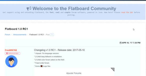 Flatboard Forum v1.0 RC 1 draussen mit Bugfixes und neuen Features – schaue es dir mal an!