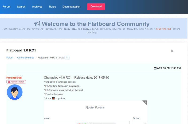 flatboard-forum-v1-0-rc1-erschienen-bugfixes-neue-features-internetblogger-de