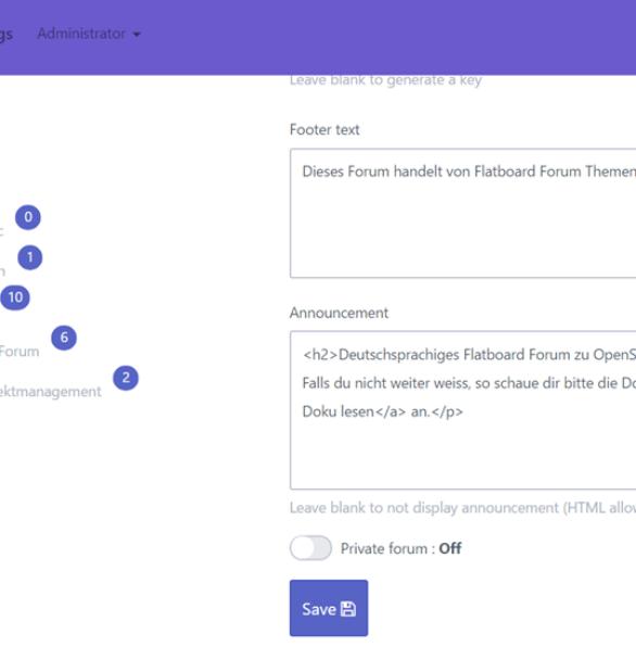 Finalversion vom Flatboard Forum erschienen – v1.0