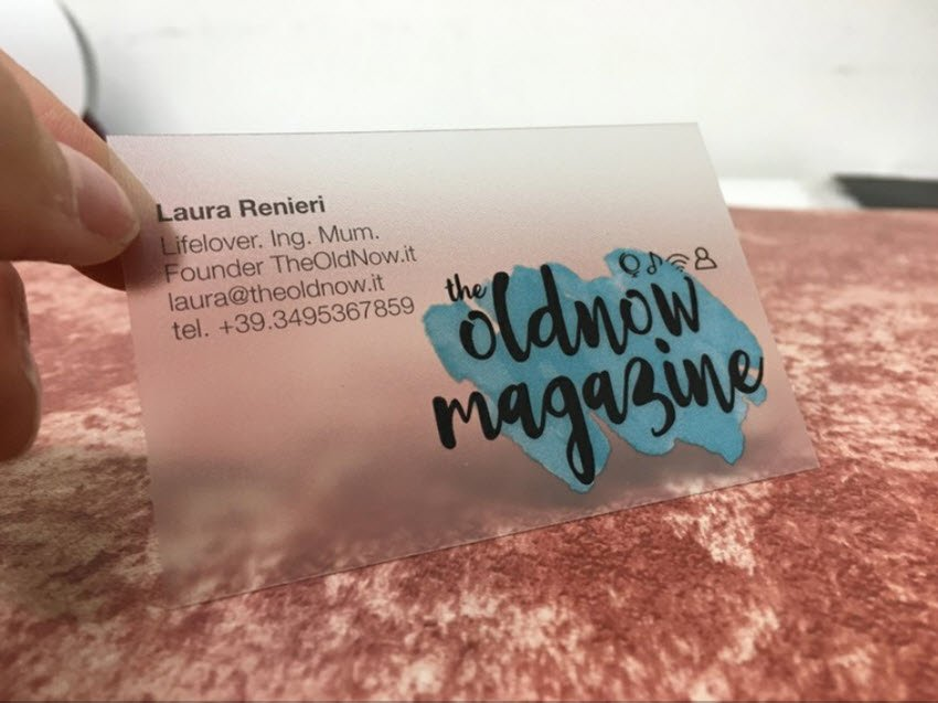 Die Visitenkarte als Eyecatcher für neue und bestehende Kunden