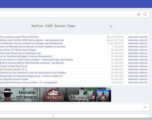 Xenforo Forum 1.5.14 und Media Gallery 1.1.13 Updates erschienen - Bugfixes + Wartung