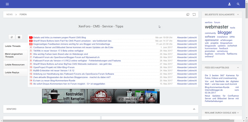 Xenforo Forum 1.5.14 und Media Gallery 1.1.13 Updates erschienen – Bugfixes + Wartung