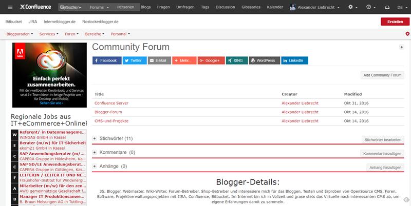 confluence-server-community-forums-foren-übersicht-frontend